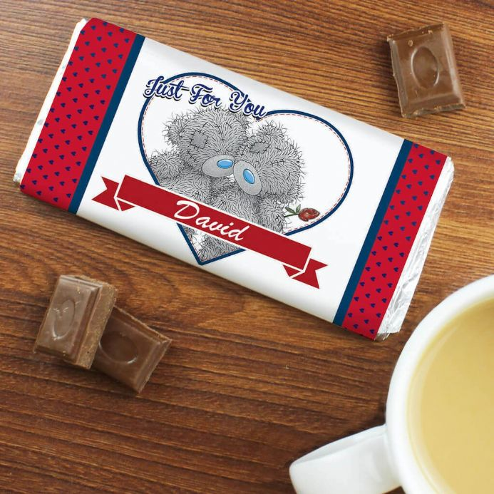 Personalised Me to You Couple Chocolate Bar